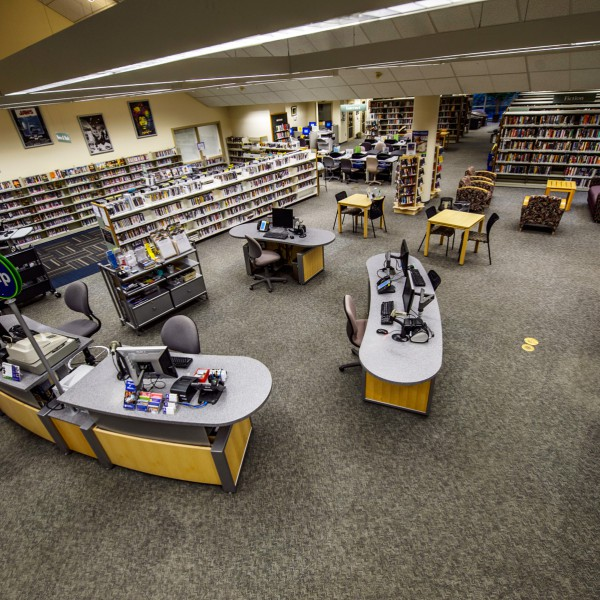 Pierce County Libraries, Gig Harbor Branch, WA