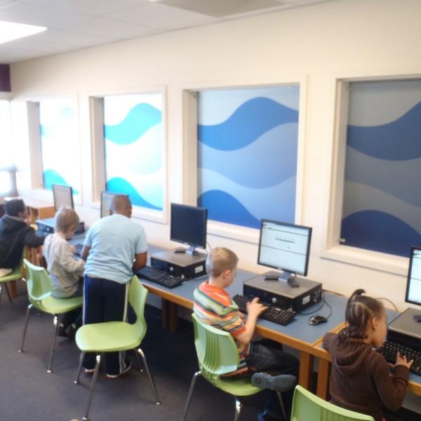 Hawthorne School Computer Lab