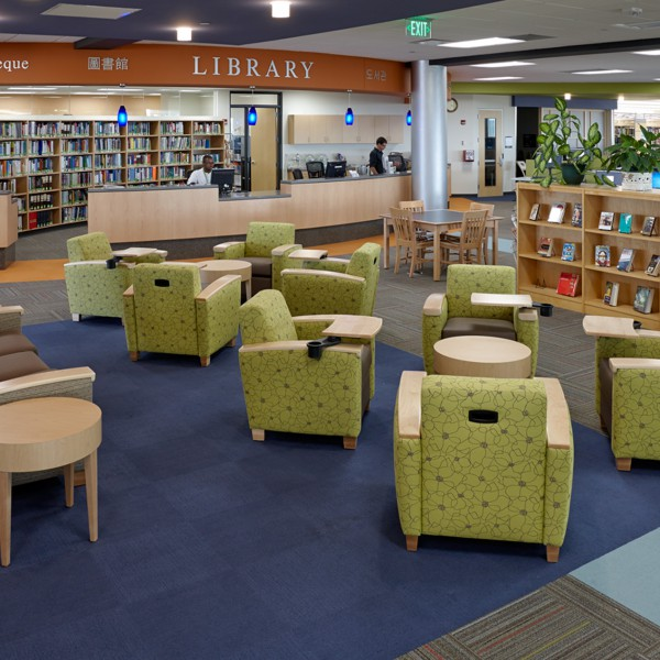 Madison College Library - After Photo