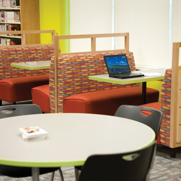 Teen Space at Plainfield Guilford Township Public Library