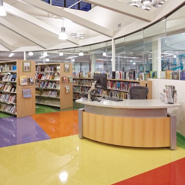 San Diego County Library, Ramona Branch, CA