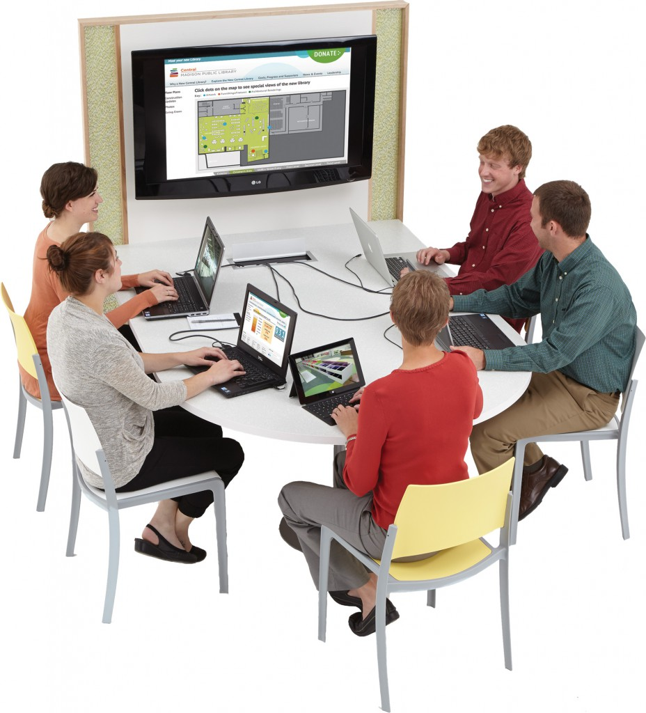 Come Together! Collaborative Spaces in the Library