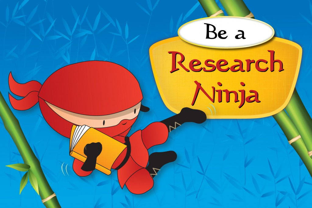 Be a Research Ninja Activity Guide