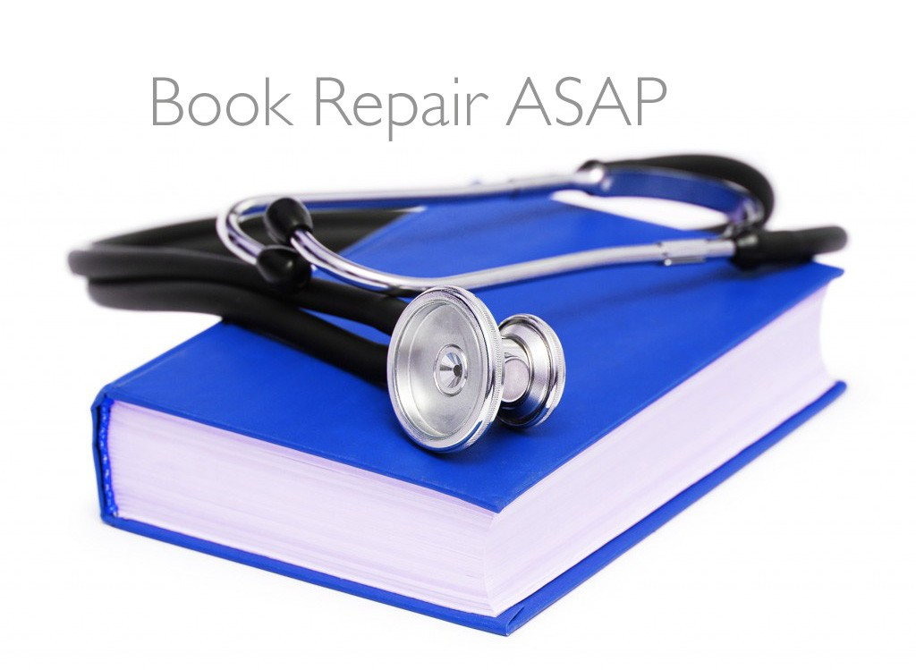 The Book Doctor Is In: Book Repair ASAP