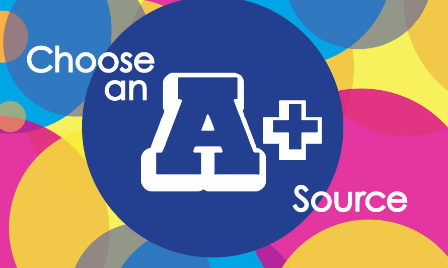 Choose an A-Plus Source Activity Guide