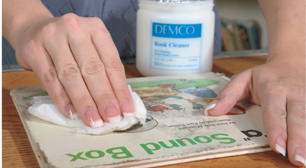 The Book Doctor is In: How to Clean Books