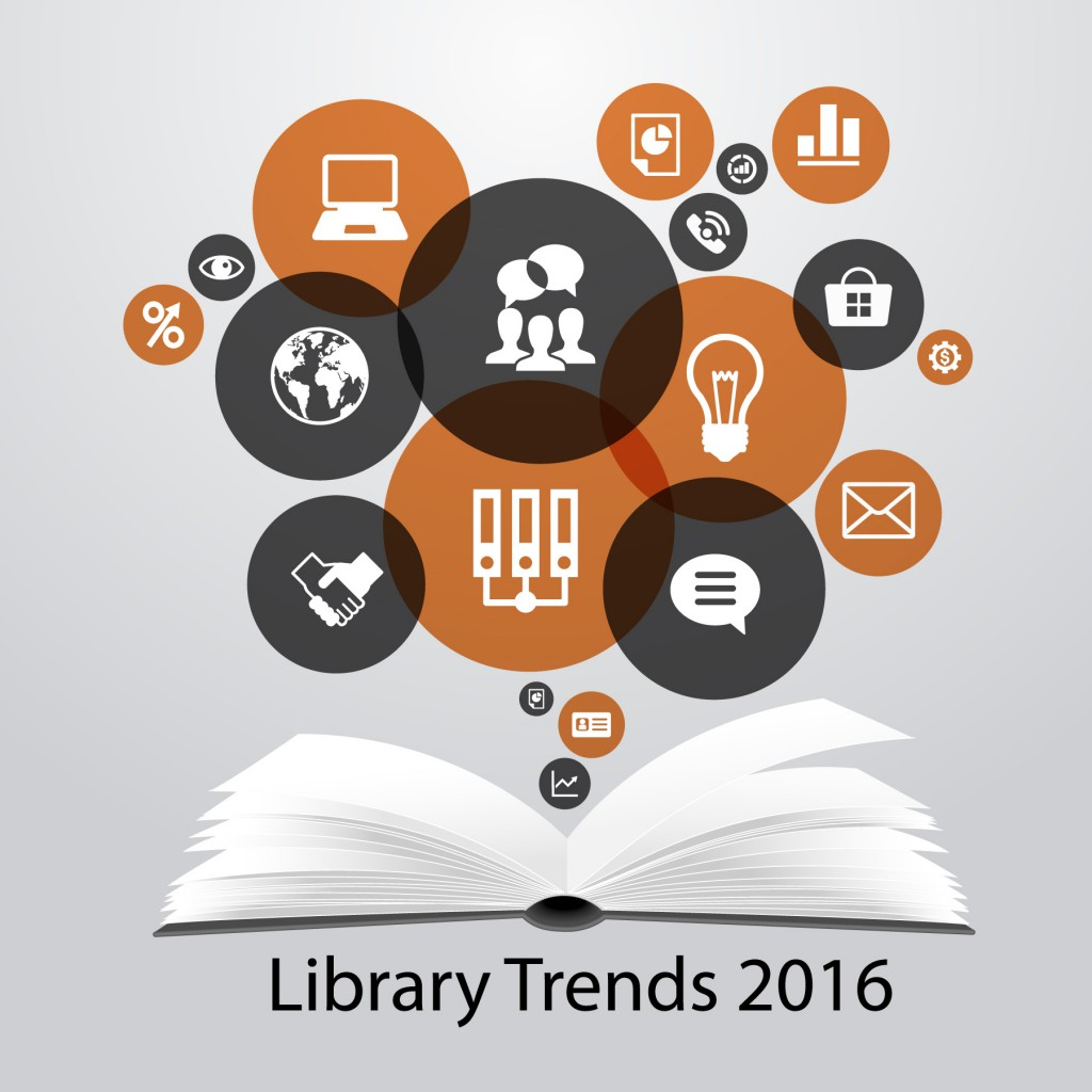 5 Library Trends to Watch in 2016