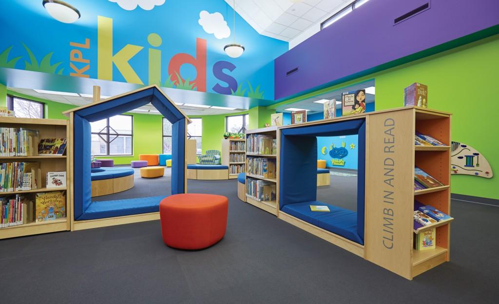interior design for childrens library book