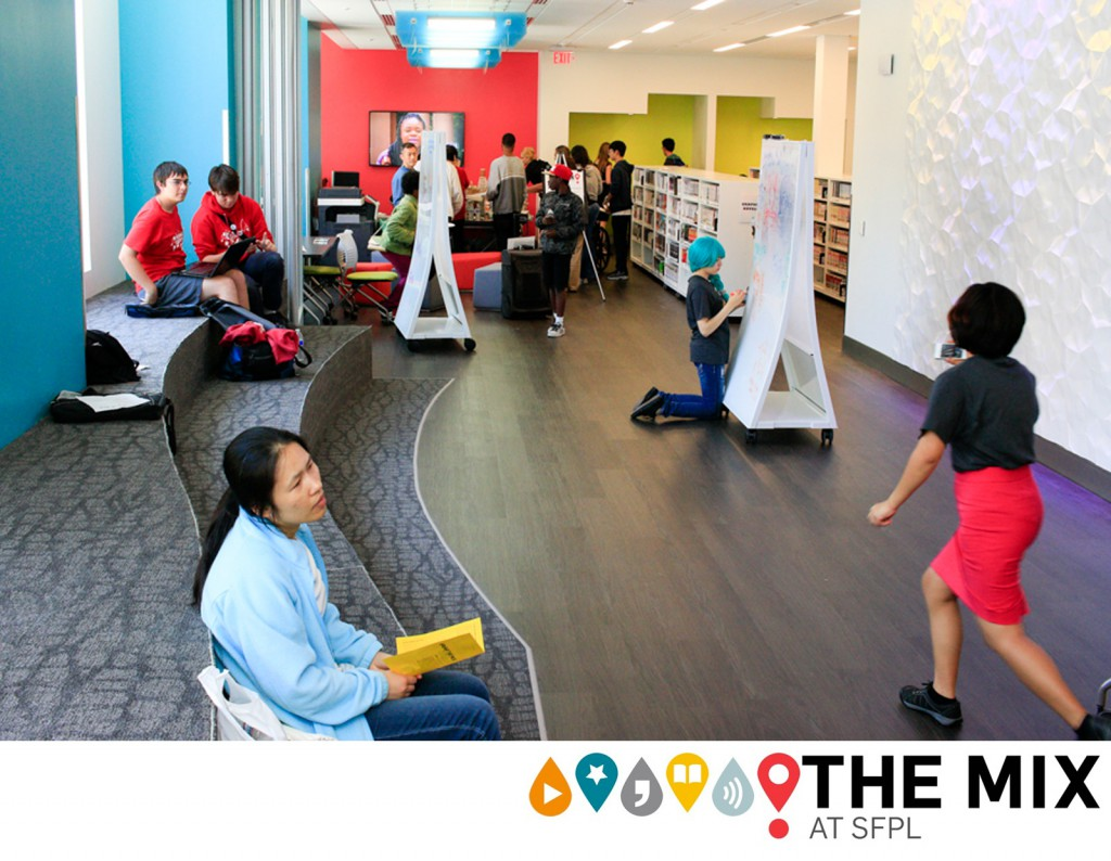 Mix It Up: Spaces, Programs and Outreach That Engage Teens