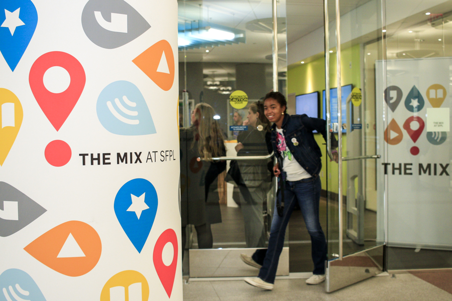 Take a Virtual Tour of The Mix, San Francisco Public Library's Ultimate Teen Space