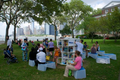Good Things Are Popping Up: Brooklyn Public Library's Mobile Outreach Services