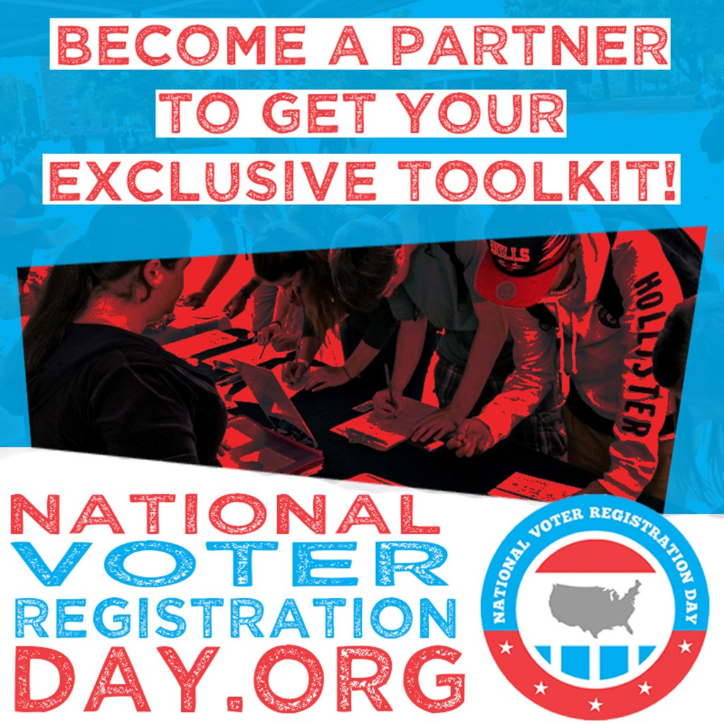 What Every Library Needs to Know to Get Involved in National Voter Registration Day