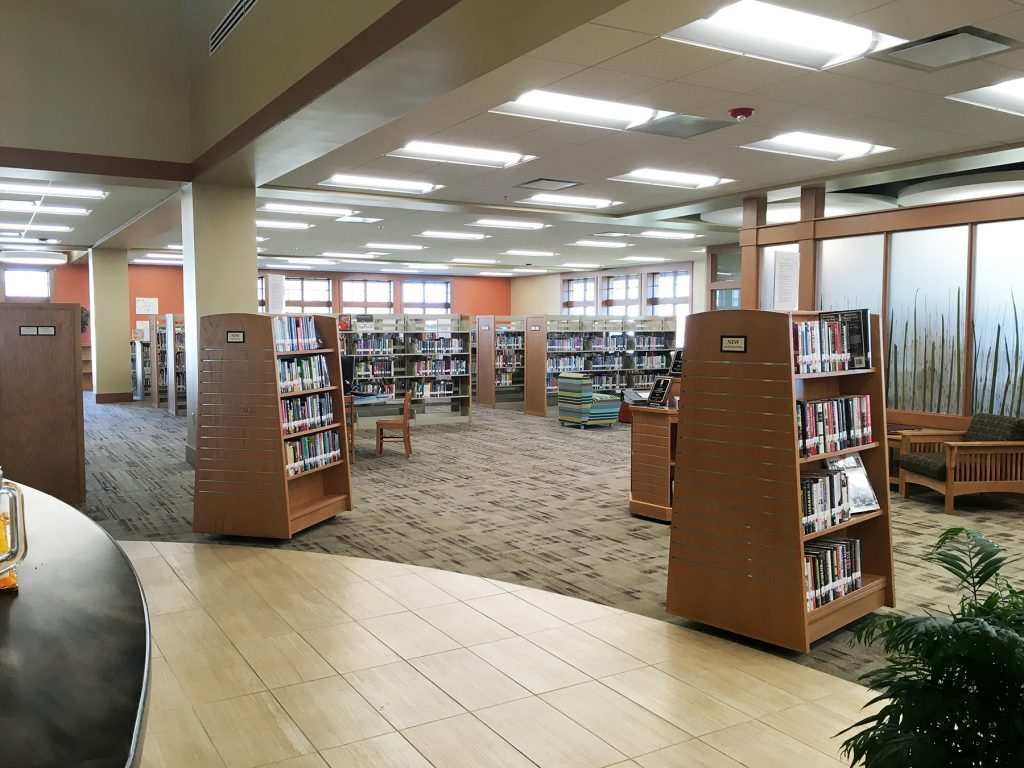 Visiting Schreiner Memorial Library, Wisconsin's 2016 Library of the Year