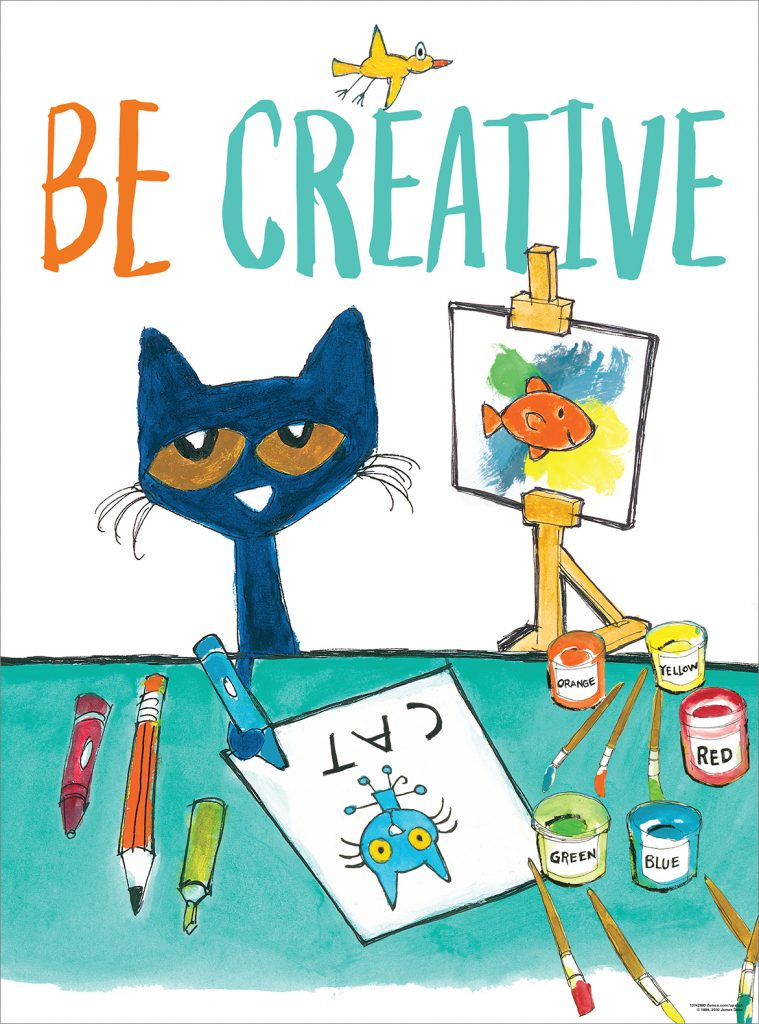 5 Ways to Inspire Creativity With Pete the Cat
