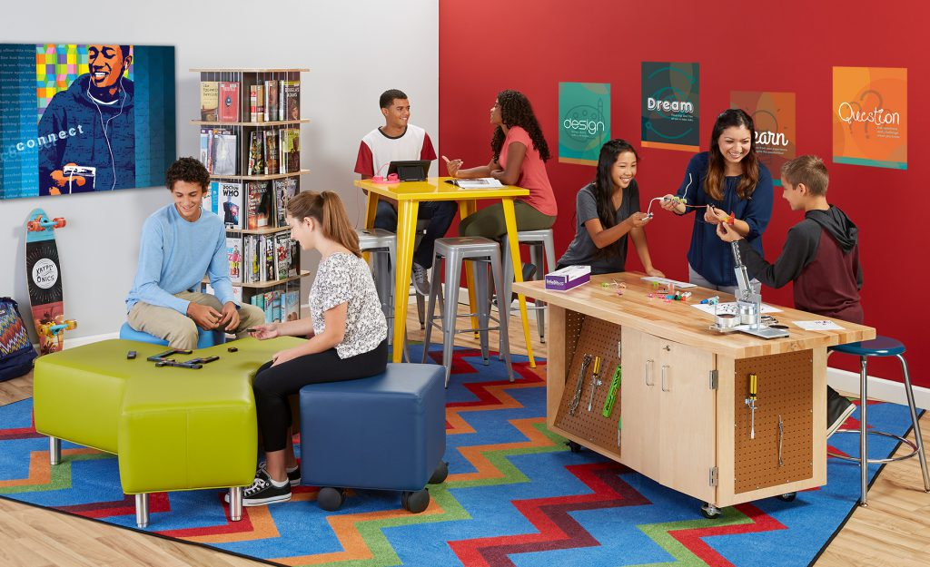Makerspace Furniture Checklist + 9 Proven Products