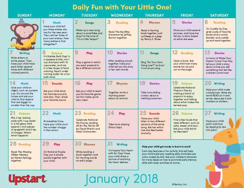 EarlyLit_Activity_Calendar_Jan18