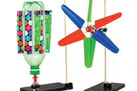 TeacherGeek® Mini Wind Turbine Activity Kit