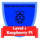 Level 1 Raspberry Pi Badge