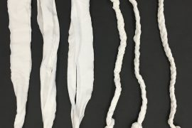 Braided T-shirt Strips