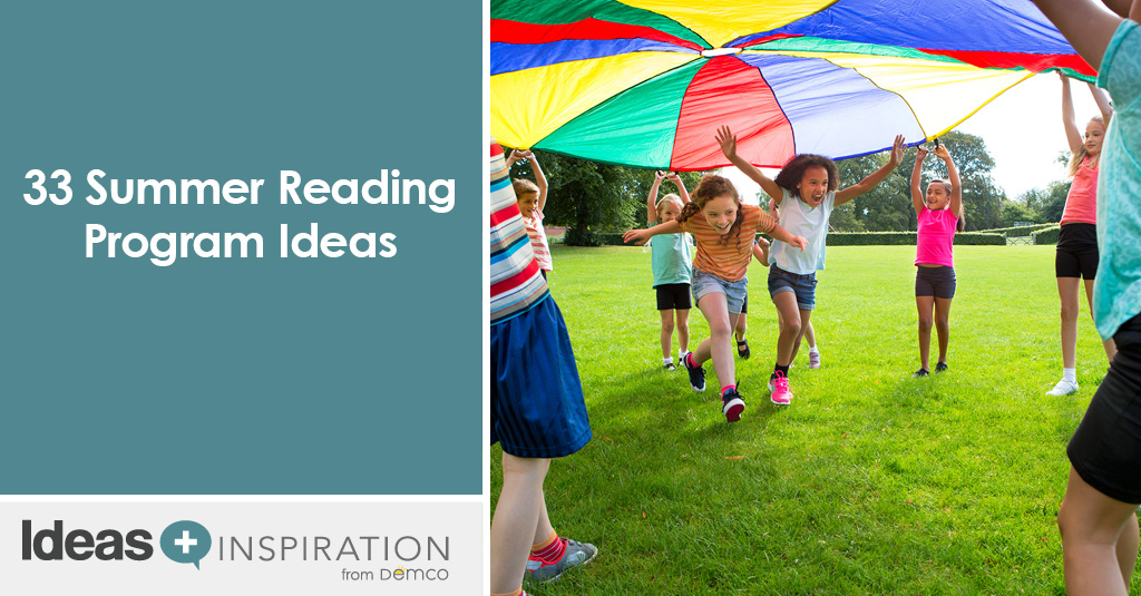 33 Summer Reading Program Ideas