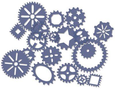 Roylco® Gears Stencils