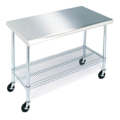 Seville Classics® Stainless Steel Top Worktable