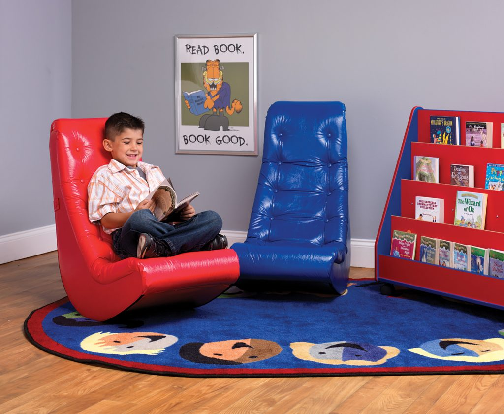 Lightweight Reading Floor Rockers