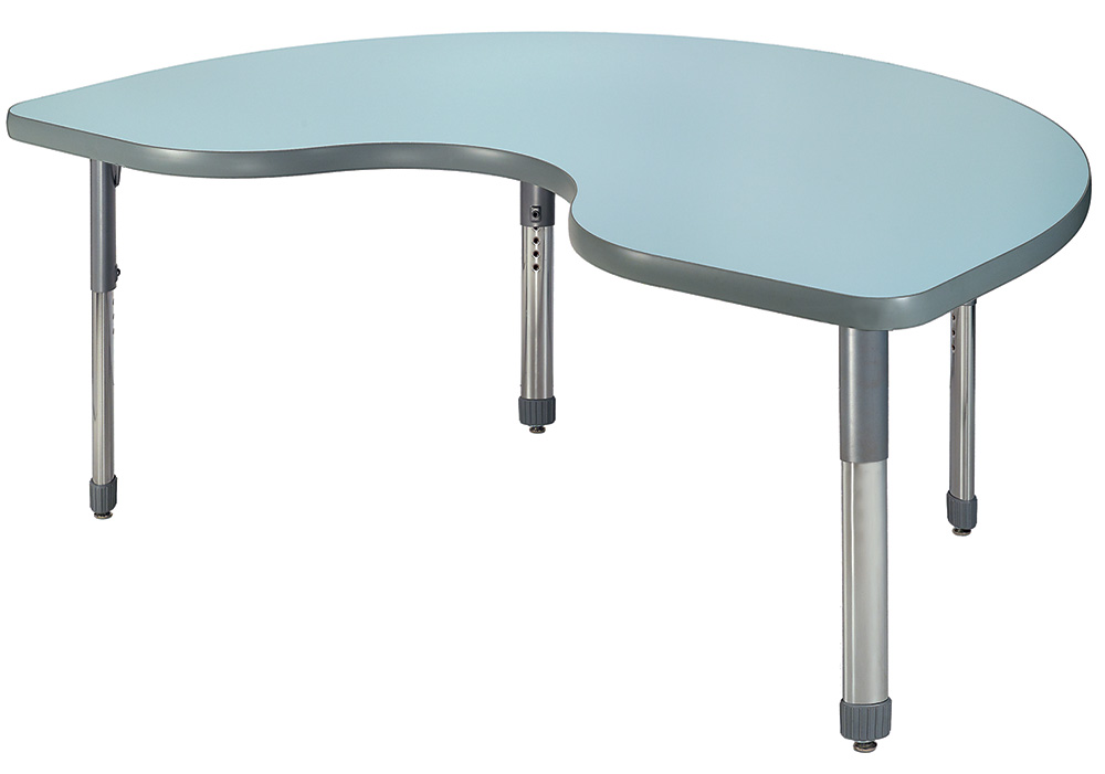 Allied™ Imagination Station Colorful Dry Erase Table — Kidney