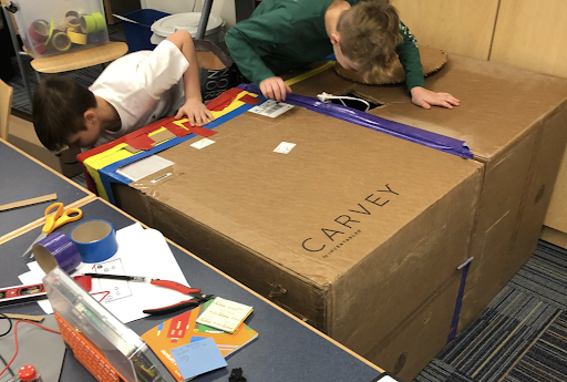 Cardboard Projects: The Fort #1