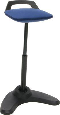 OFM Vivo Height-adjustable Perch Stool
