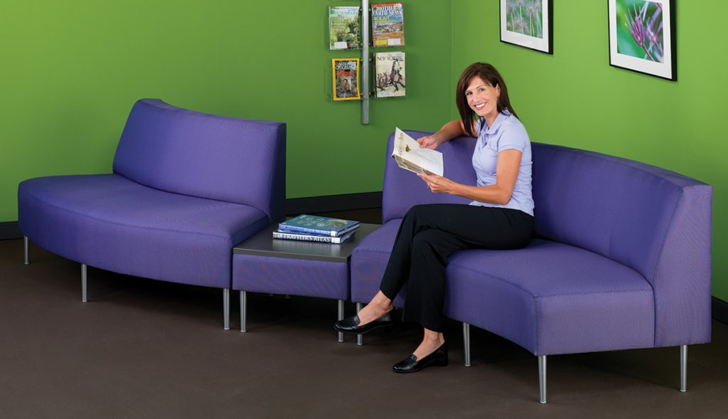 HPFI® Eve Curved Modular Seating