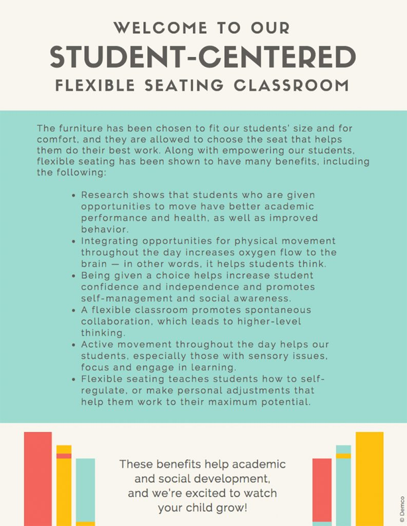Flexible Seating Parent Handout