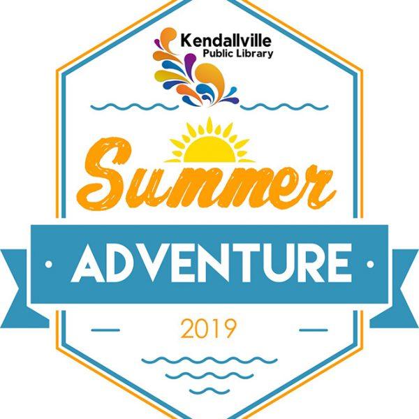 Kendallville Public Library Summer Adventure Logo