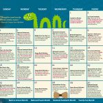 Children's Activity Calendar: August 2019