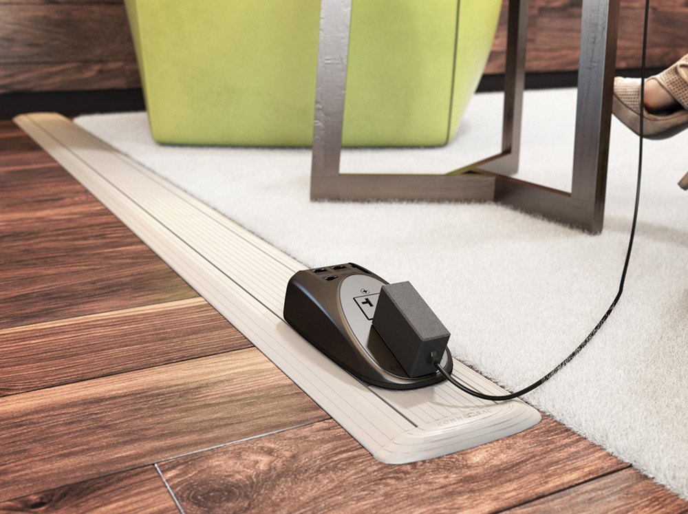 Connectrac® On-Floor Wireway