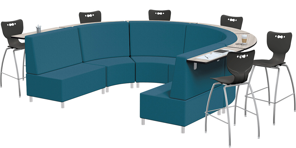 MooreCo™ Orbit Mediaspace Soft Seating