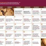 Adult Activity Calendar: October 2019