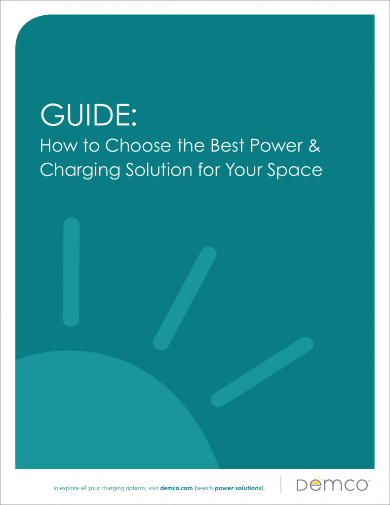How to Choose the Best Power and Charging Solution for Your Space