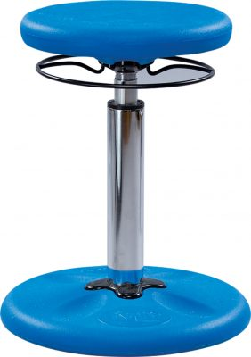 Kore™ Antimicrobial Youth Adjustable Wobble Stool