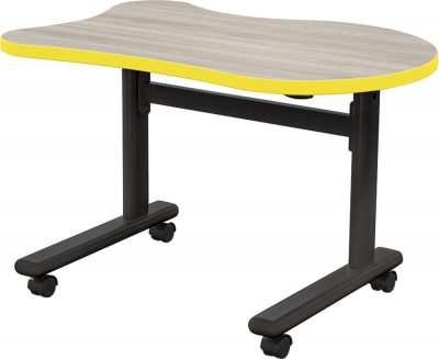 MooreCo™ Height-Adjustable Flipper Desks