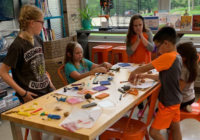 Programming That Inspires: Using Wonderosity Kits In and Out of the Library