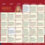 Children's Activity Calendar: January 2020