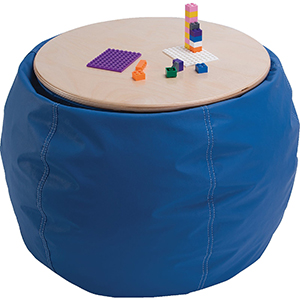 Demco Bean Bag Pouf Table
