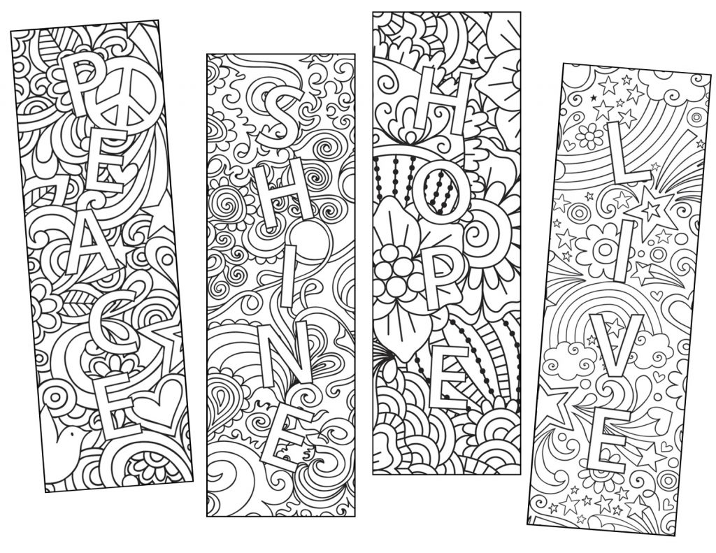 Color Craze Bookmark