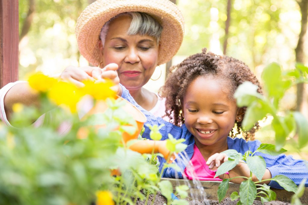 Gardening with Grand Daughter