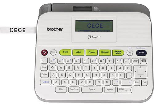 Label printers help you quickly label individual student supplies.