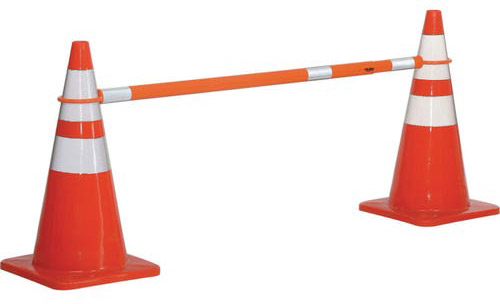Traffic cones can help you cordon off your outdoor classrooms.