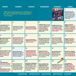 Children's Activity Calendar: January 2021