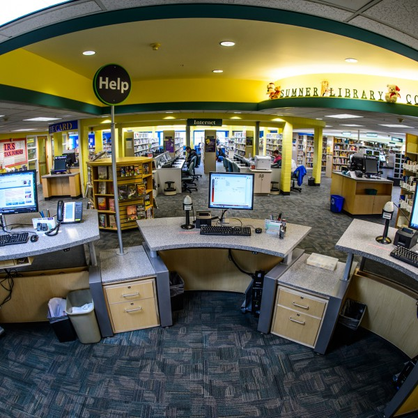 Pierce County Libraries, Sumner Branch, WA