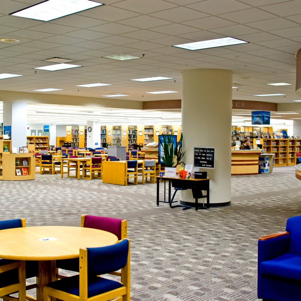 Madison College Library - Before Photo